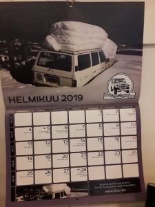 Hyvää perjantaita ja helmikuun 1. päivää. Nyt on Suomen Land Cruiser Klubin kalenteriin valittu osuva kuva.